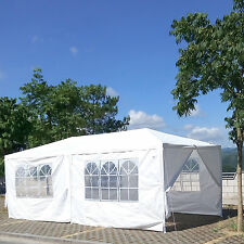 10'x 20' Waterproof Outdoor Wedding Party Patio Marquee Canopy Tent Gazebo White