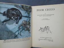POOR CECCO by Margery Williams Bianco illustrated by Arthur Rackham