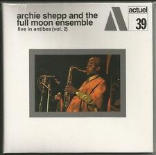Live in Antibes Vol.2 Archie Shepp [CD Papersleeve] Neu!