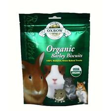 Oxbow BeneTerra Organic Barley Biscuts For Rabbits Chinchillas etc. 2.65 oz