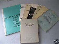 Alte medizinisch Technik Prospekte+Krankenpflege-Lehrbuch+Arztverzeichnis Ndb.61