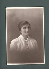 "Horace Dudley, studio photo, West Midlands, ""Ethel"" in white blouse,  qc 649"