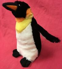 Doy Toy Squeaky Penguin 7 X 7 inch Premium Super Soft Snuggle Fabric Interactive