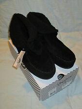 Women's Zumiez Good Spirits Shoe mocassin Boots Roll down cuff Black Size 9