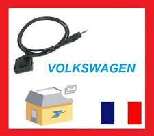 CABLE AUXILIAIRE MP3 AUTORADIO VW GOLF 5 PASSAT TOURAN MFD2 RNS RNS2