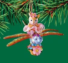 """Mouse on Dragonfly """"Enchanted Journey""""   Carlton Cards 2003 Ornament"""