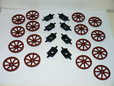 NEW LEGO Large brown wagon wheel western castle carriage kingdom horse buggy