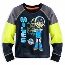 $19.95 NEW Disney  Miles from Tomorrowland Little Boy Long Sleeve TShirt Size 2