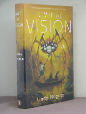 1st, signed by 2 (author,artist), Limit of Vision by Linda Nagata (2001)