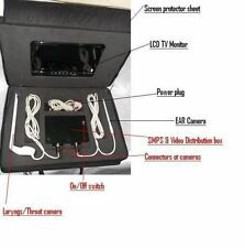 ENT VIDEO OTOSCOPE AND LARYNGS CAMERA LCD TV MONITOR 1/8 INCH IMAGE SYSTEM