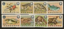 Tanzania 1990 Extinct Species SG725-732 MNH