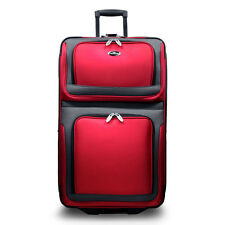 "US Traveler Red New Yorker 29"" Lightweight Rolling Luggage Travel Suitcase Bag"