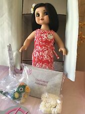 Disney Marie Osmond Adora Belle TIKI ROOM HAWAIIAN DOLL SIGNED LE 1000 RARE #347