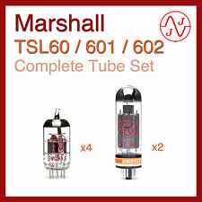 Marshall TSL60 / TSL601 / TSL602 Complete Tube Set with JJ Electronics
