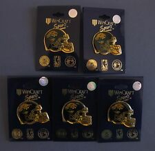 JACKSONVILLE JAGUARS HELMET PINS LOT OF FIVE (5) NEW NFL LICENSED WINCRAFT