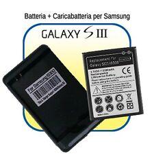 Batteria MAGGIORATA da 2300mAh + CARICABATTERIE per Samsung GALAXY NEO S3 i9300