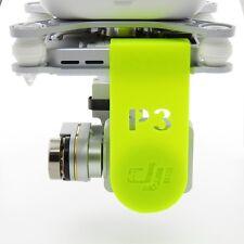 Amarillo/Yellow DJI Phantom 3 lens cover & Gimbal Lock lentejas protección ADV & Pro