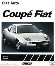CD MANUALE TECNICO D'OFFICINA FIAT COUPE' 1.6-1.6 TURBO-2.0-2.0 TURBO-ZFA175 EN