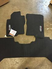 NEW OEM NISSAN XTERRA 2008-2015 PRO-4X 3 PC CARPET FLOOR MATS XTERRA 2000-2004