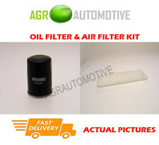 PETROL SERVICE KIT OIL AIR FILTER FOR TOYOTA IQ 1.0 68 BHP 2008-