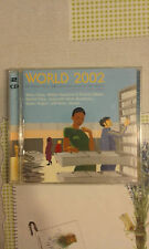 COMPILATION - WORLD 2002 -  (KEITA, MANU CHAO, MARIZA, TOM ZE....)  - DOPPIO CD