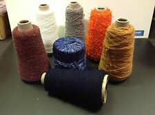 Texere Yarn Pack of 6 Cones Balls Assorted Colour Texture String Craft Knit Sew