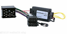 Bmw 3er e46 Sony Pioneer Radio Adaptador Cable volante control remoto Interface
