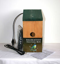 PC CAMERA BIRD NESTBOX, Watch/Record, 21ft cables, colour+audio, ideal gift