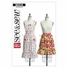 Butterick 5518 Misses' Apron Sewing Pattern (One Size)