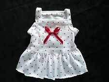 XS cute dog dress