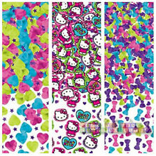 HELLO KITTY Rainbow CONFETTI VALUE PACK ~ Birthday Party Supplies Foil Tabletop