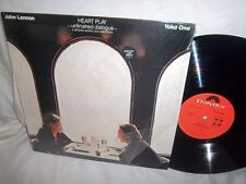 JOHN LENNON/YOKO ONO-HEART PLAY-UNFINISHED DIALOGUE-POLYDOR 817 238-1 NM/NM LP