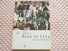 Super Junior Boys in City Season 2 Tokyo Photobook DVD Official SM Rare OOP