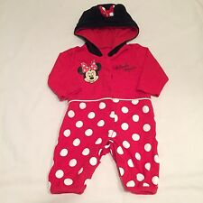Disney Minnie Mouse sleepsuit  babygrow outfit Baby girls clothes 0-3 Months