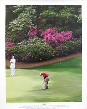 "Arnold Palmer Unsigned ""Amen"" Augusta National 13x16 Poster US#1051"