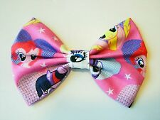 NEW FABRIC HAIR BOW W/ALLIGATOR CLIP * My Little Pony * Handmade USA * B