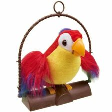 Talking Back Parrot bird Kids Toy It Imitates What You Say