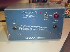 Kay Electric Co. 1024A Transifier Amplifier 200CPS to 300MC RARE