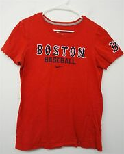 BOSTON RED SOX MLB baseball Nike Slim Fit Coupe Tee T-Shirt sz L kids youth#8002
