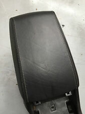 FORD FPV BA BF CONSOLE LID LEATHER WITH WHITE GREY STITCH GENUINE F6 TYPHOON GT