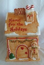 Hobby Lobby Home for the Holidays Ceramic Cookie Jar EUC