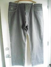 BIG & TALL STRONG & STURDY NEW GRAY JEANS BY EIGHT  732 : SIZE 50 WAIST