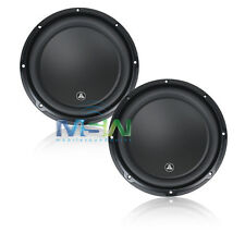 "(2) *NEW* JL AUDIO 12W3v3-2 12"" W3v3 SUBWOOFERS 2-OHM SVC CAR WOOFERS SUB *PAIR*"