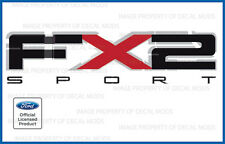 set of 2: 2009 2010 2011 Ford F150 FX2 Sport Decals F Stickers Truck Bed graphic