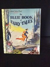 NEW The Blue Book of Fairy Tales by Golden Books Hardcover Book 1987