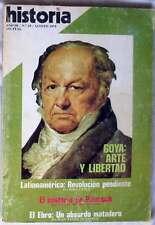 REVISTA HISTORIA 16 - Nº 28 - GOYA: ARTE Y LIBERTAD - VER ÍNDICE Y DESCRIPCIÓN