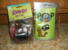 SCOOBY DOO COLLECTIBLE POP TOPS AND SPORT BALL