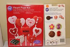 Bundle Wilton Heart Cake Pop Kit and Wilton Cookie Candy Mold