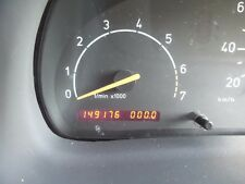 1999 SAAB 9-3 TURBO CONVERTIBLE CLUSTER SPEEDOMETER INSTRUMENT ONLY 149,000kms