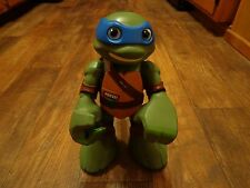 "2014 PLAYMATES TOYS--MUTANT NINJA TURTLES--12"" LEONARDO FIGURE--TALKS & PUNCHES"
